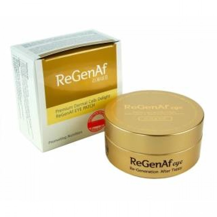 Гидрогелевые патчи премиум класса EGF ReGenAf Gold & EGF Premium Hydro-Gel Eye Patch.