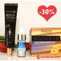 Deep moisturizing and skin care around the eyes from Ramosu. Set of 3 pcs.