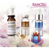 Отбеливание лица и регенерация кожи + Гиалуроновая кислота в Подарок! Набор 3 шт.