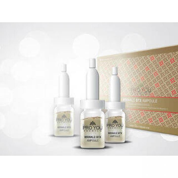 Регенерирующая сыворотка для лица против мимических морщин Pro You Wrinkle BTX Ampoule с эффектом ботулотоксина.