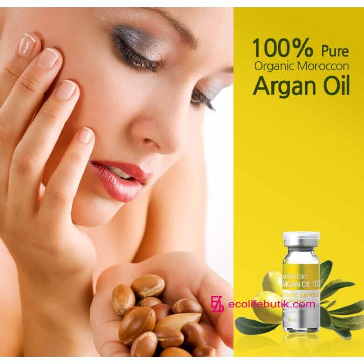Аргановое масло для лица косметологической очистки, 10 мл.