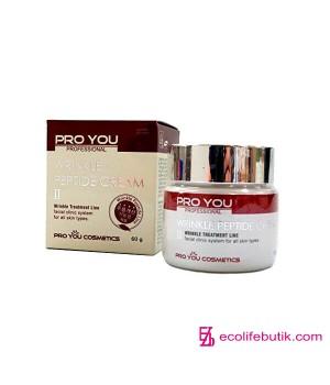 Крем с пептидами против морщин Pro You Wrinkle Peptide Cream, 60 г