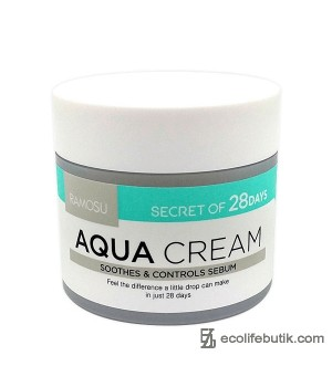 Увлажняющий, себорегулирующий крем Ramosu Aqua Cream, 50 мл