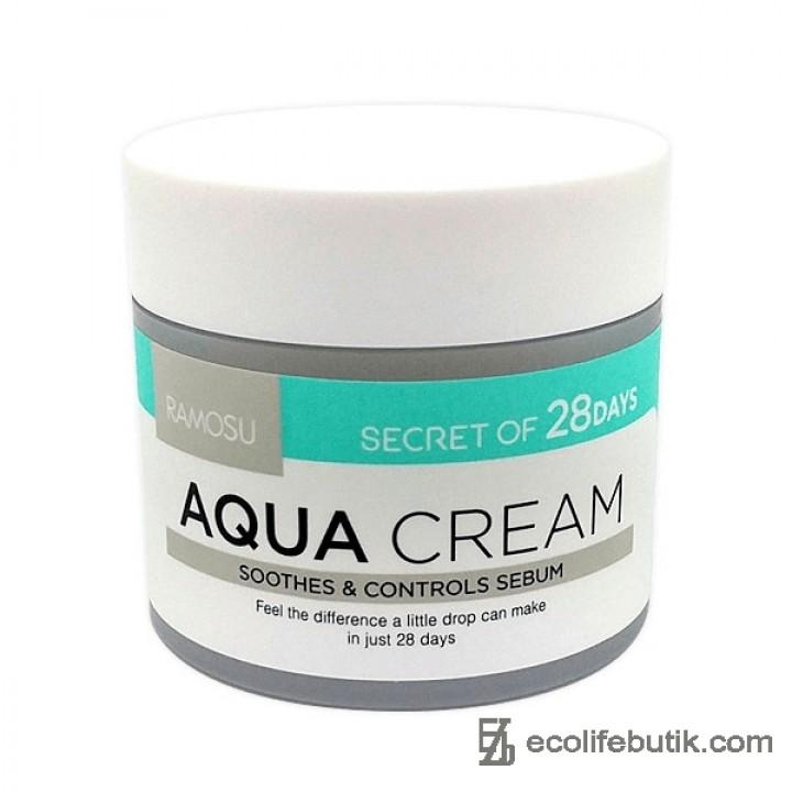 Противовосполительный увлажняющий крем для лица Ramosu Aqua Cream, 50 мл.