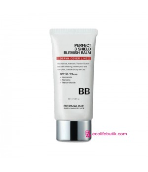ВВ-крем DermaLine Perfect 3 Sheld Blemish Balm SPF 50 /PA+++, 50 ml
