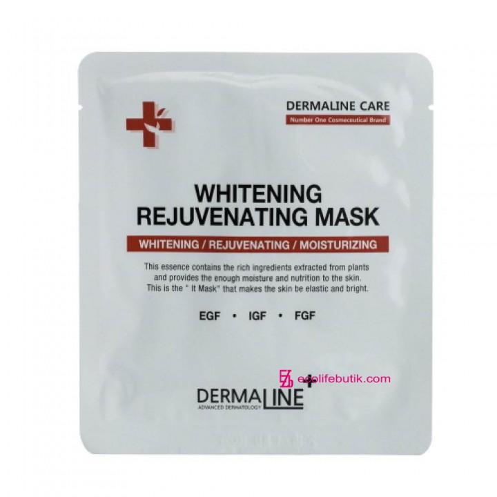 Маска отбеливающая и омолаживающая Dermaline Premium Rejuvenating Mask
