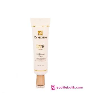 Крем-маска для лица Dr.Hedison Gold Caviar Mask с коллоидным золотом, 30 мл