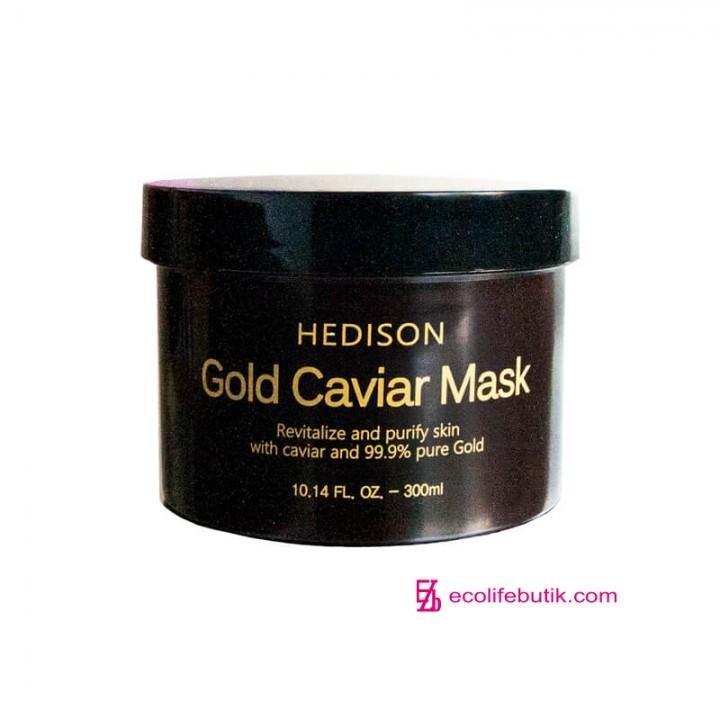 Премиум крем-маска для лица Dr.Hedison Gold Caviar Mask с коллоидным золотом, 300 мл