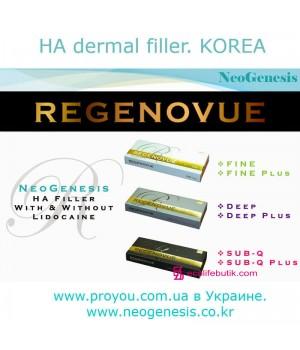 Филлеры Regenovue Fine/Deep/Sub-Q NeoGenesis (Корея)