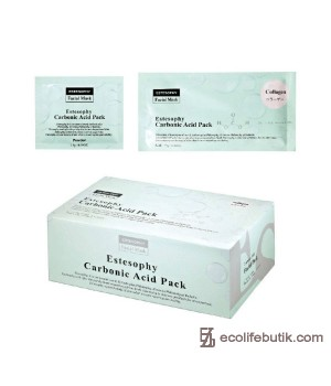Маска для карбокситерапии лица с Коллагеном Estesophy Carbonic Acid Pack Collagen