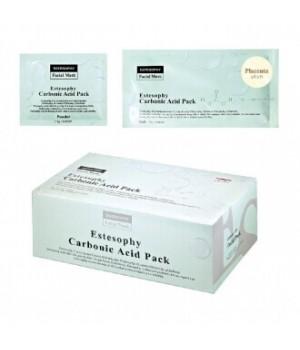 Маска для карбокситерапии лица с Плацентой Estesophy Carbonic Acid Pack Placenta