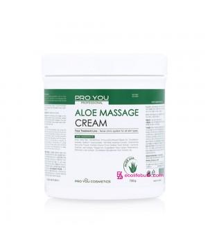 Крем для массажа лица с алоэ Pro You Aloe Massage Cream, 730 г.