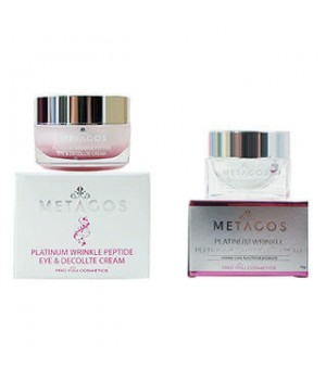 Крем против морщин с платиной и пептидами Metacos Platinum Wrinkle Peptide Cream, 50 г