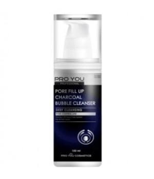 Пенка для умывания и сужения пор Pore Fill Up Charcoal Bubble Cleanser, 100 мл