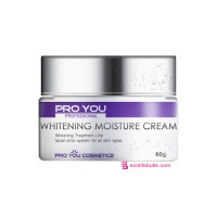 Pro You Whitening Moisture Cream Moisturizing Face Cream with Whitening Effect, 60 g