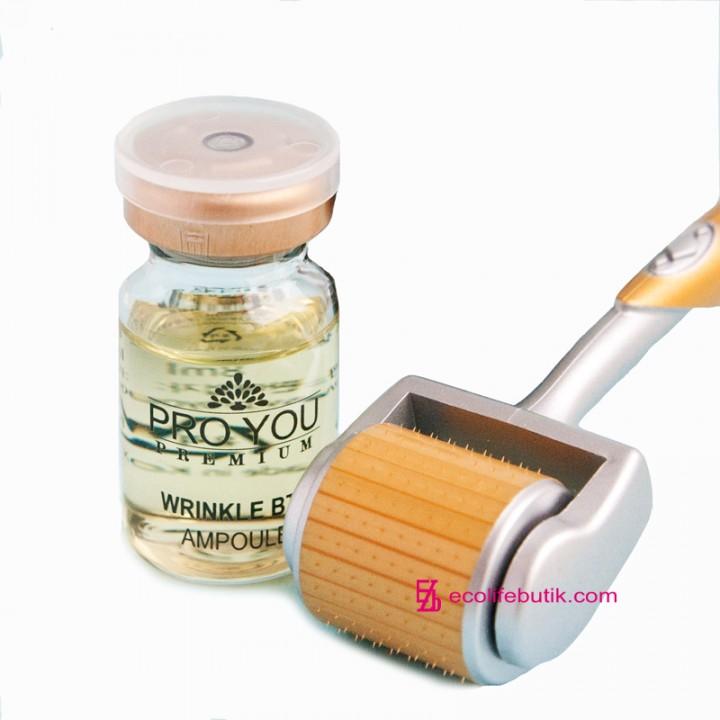 Антивозрастная восстанавливающая сыворотка Pro You Wrinkle BTX Ampoule с эффектом ботулотоксина.