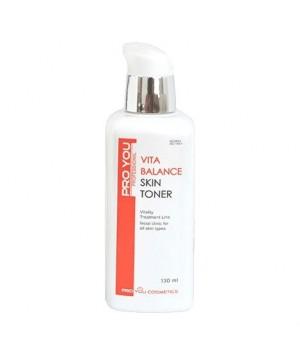 Тоник для обезвоженной кожи лица с витаминами Vita Balance Skin Toner, 130 мл