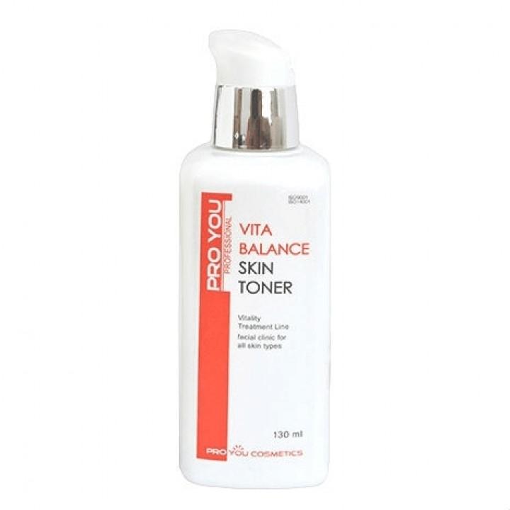 Увлажняющий тоник для сухой кожи лица с витаминным комплексом Vita Balance Skin Toner, 130 мл.