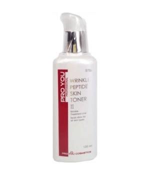 Тоник с пептидами против морщин Pro You Wrinkle Peptide Skin Toner, 130 мл