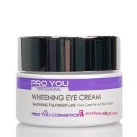Осветляющий крем под глаза для устранения темных кругов Pro You Whitening Eye Cream, 30г