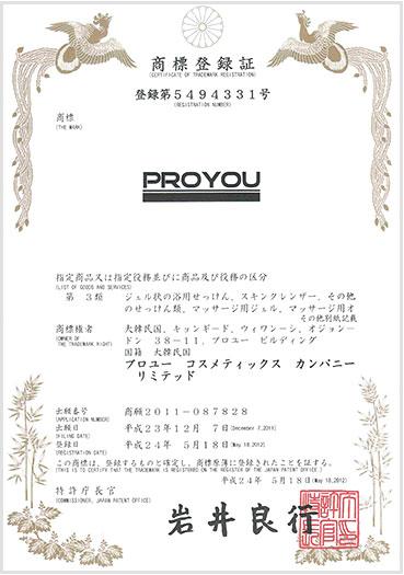 Pro You регистрация бренда 6