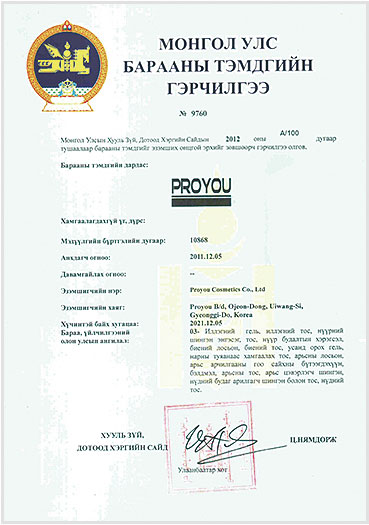 Pro You регистрация бренда 7