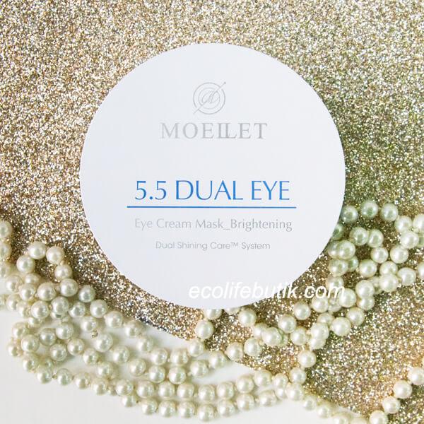 Патчи под глаза Misoli Moeilet 5,5 Dual Eye Cream Mask Brightening, 60 шт.