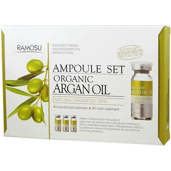 Аргановое масло для лица косметологической очистки Organic Argan Oil