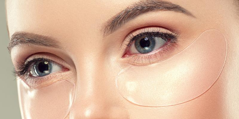 Гидрогелевые патчи для кожи под глазами