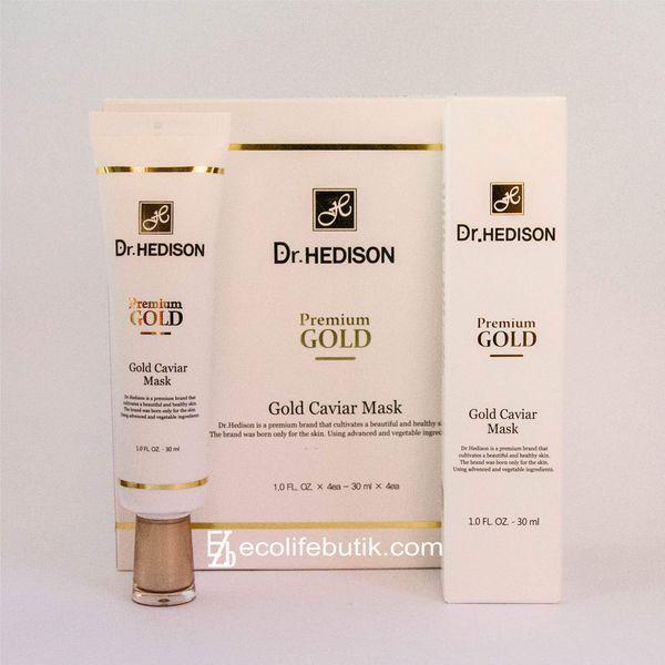 Крем-маска для лица с коллоидным золотом Dr.Hedison