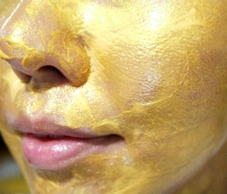 Крем-маска для лица Dr.Hedison Gold Caviar Mask с коллоидным золотом