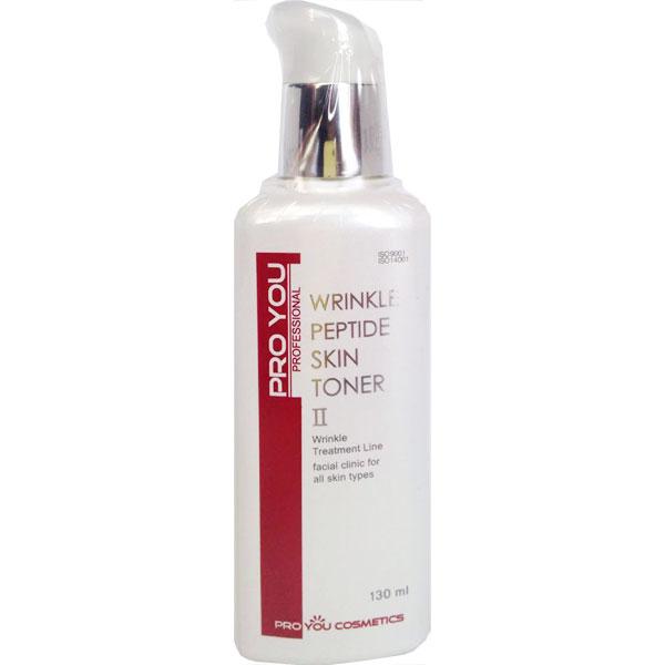 антивозастной тоник с пептидами против морщин Wrinkle Peptide Skin Toner
